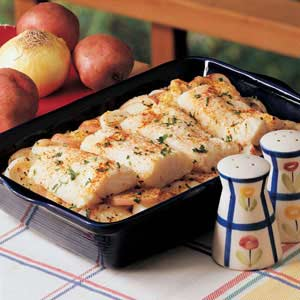 New England Fish Bake Recipe