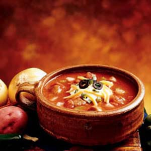 Zesty Steak Chili Recipe