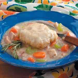 Turkey Dumpling Stew Recipe