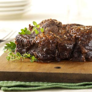 Mushroom Pot Roast Recipe