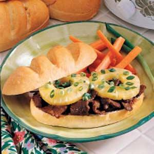 Teriyaki Sandwiches Recipe