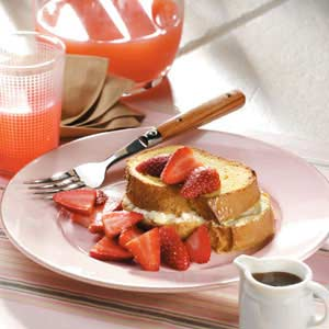 Overnight Stuffed French Toast Recipe