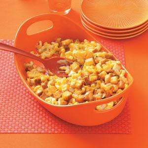 Creamy Makeover Macaroni and Cheese Recipe