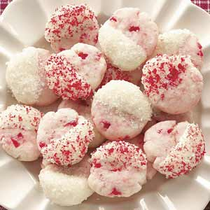 Dipped Cherry Cookies Recipe
