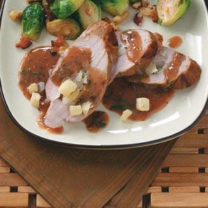 Apple-Stuffed Pork Tenderloins Recipe