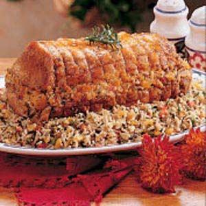 Rice-Stuffed Roast Recipe
