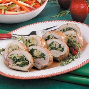 Spinach Pork Tenderloin Recipe