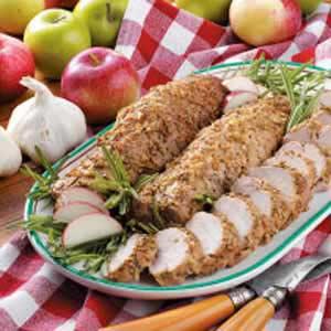 Rosemary Roasted Pork Tenderloin Recipe