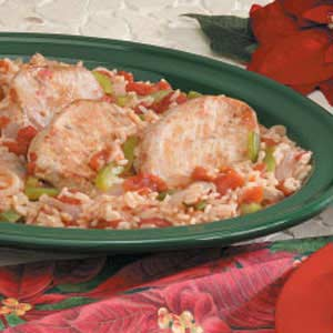 One-Pot Pork and Rice Recipe