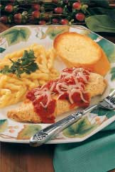 Lighter Chicken Parmigiana Recipe