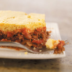 Hamburger Corn Bread Casserole Recipe