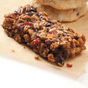 Berry Granola Bars Recipe
