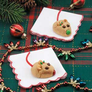 Peanut Butter Christmas Mice Recipe