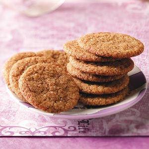 Molasses Cookies with a Kick Recipe