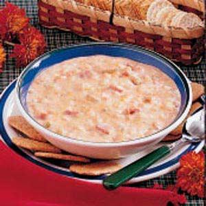 Ham and Bean Chowder Recipe