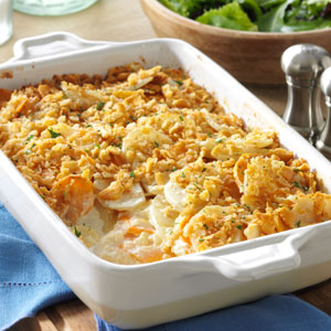 Dijon Scalloped Potatoes Recipe