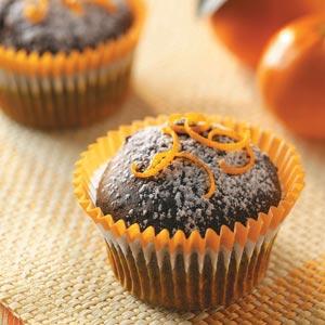 Citrus Chocolate Cupcakes Recipe