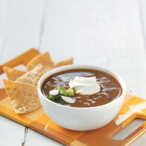 Black Bean-Pumpkin Soup Recipe