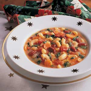 Spinach Minestrone Recipe