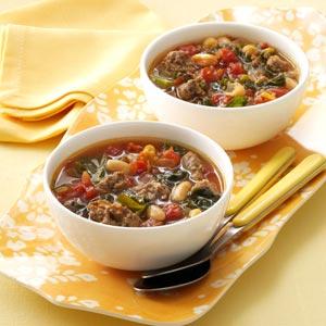 Italian Sausage Kale Soup Recipe