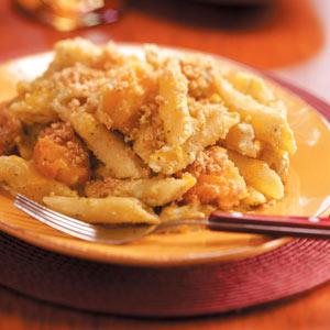 Pesto Chicken Mostaccioli Recipe
