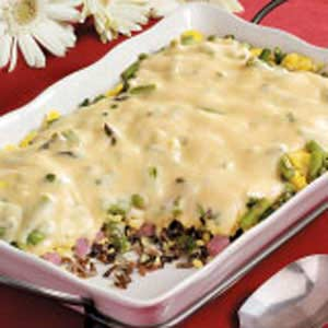 Wild Rice Brunch Casserole Recipe