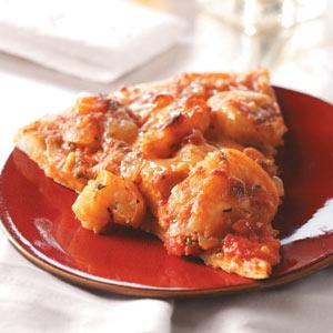 Spicy Shrimp Pizza Recipe