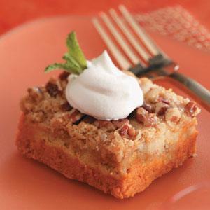 Makeover Crunchy Pumpkin Dessert Squares Recipe