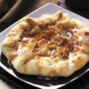 Rustic Caramel Apple Tart Recipe