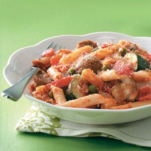 Roasted Vegetable Penne Bake Recipe