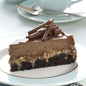 Caramel Fudge Cheesecake Recipe