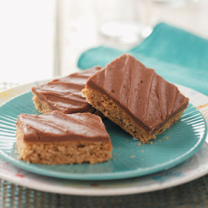 Makeover Peanut Butter Bars Recipe