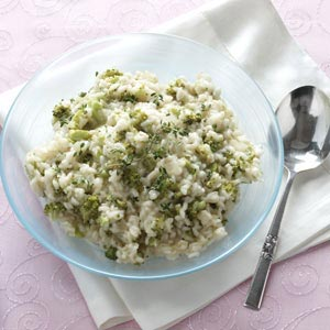Lemon Risotto with Broccoli Recipe
