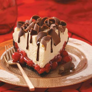 White Chocolate Mousse Cherry Pie Recipe