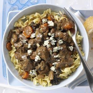 Mushroom Beef Stew Recipe