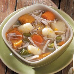 Chicken Stew with Gnocchi Recipe