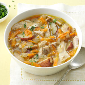 Spring-Thyme Chicken Stew Recipe