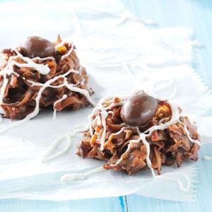 Mocha Macaroon Cookies Recipe