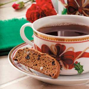 Gingerbread Biscotti Recipe