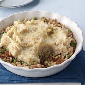 French Onion Turkey Shepherd's Pie Recipe
