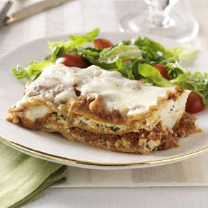 Makeover Traditional Lasagna Recipe