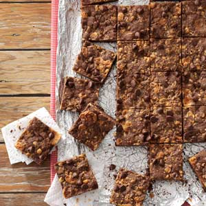 Butterfinger Cookie Bars Recipe