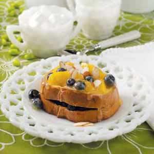 Blueberry-Stuffed French Toast Recipe