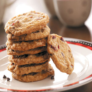 Toffee Cranberry Crisps Recipe