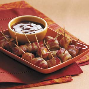 Bacon-Wrapped Appetizers Recipe