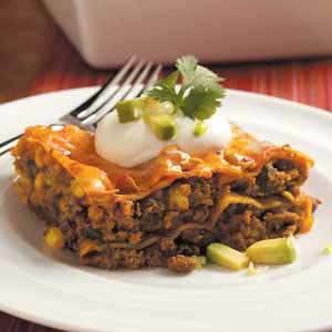 Tex-Mex Lasagna Recipe