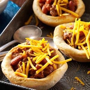 Biscuit Bowl Chili Recipe