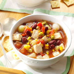 Chicken Bean Soup Recipe