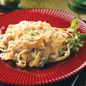 Creamy Tuna-Noodle Casserole Recipe