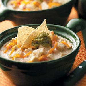 Cheesy Tortilla Soup Recipe